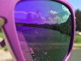 Sonnenbrille pink Grüntensee