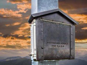 Wertacher Hörnle Gipfelbuch