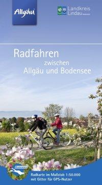Radkarte und Tourenheft Landkreis Lindau