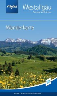 Wanderkarte Westallgäu