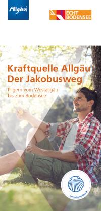 Deckblatt Kraftquelle Allgäu- Jakobusweg