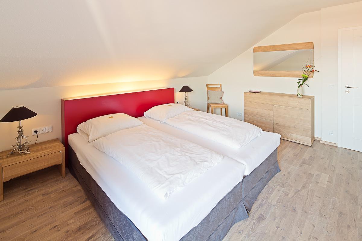 Modernes Schlafzimmer für zwei Personen