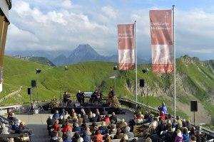 Konzert auf dem Nebelhorn
