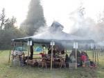 Die Jurte - das Basiscamp der Wildnis-Woche