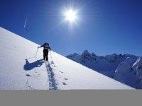 Winter Skitourengeher