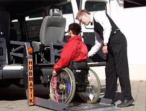 Ausflugsfahrten mit Rollstuhl