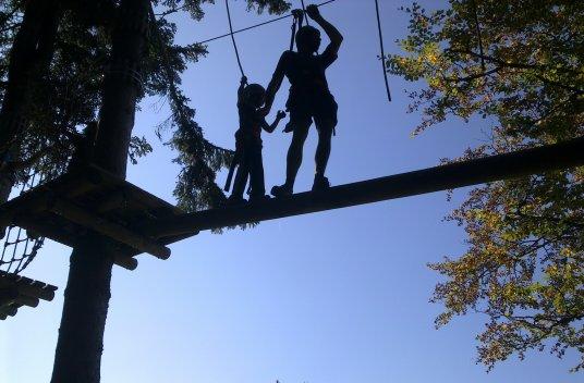 Kletterwald am Söllereck - mit Kind