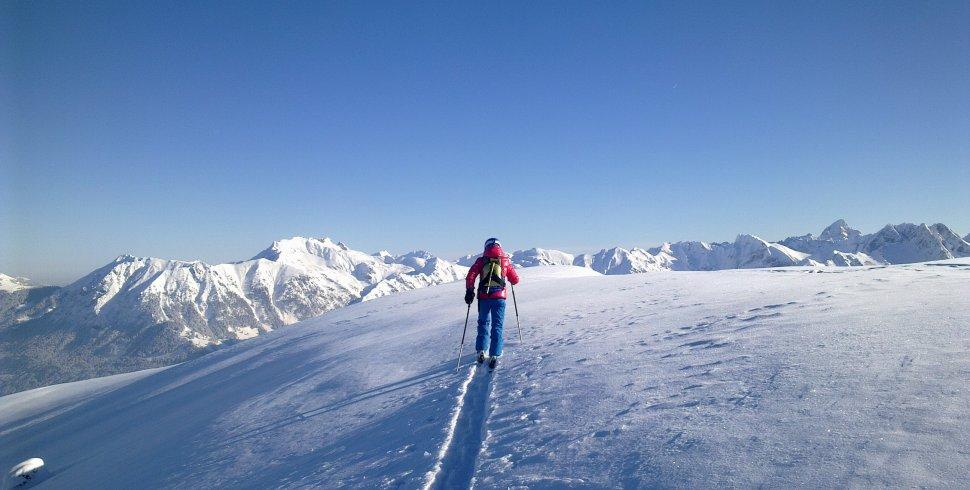Winterwandern mit Tourenski