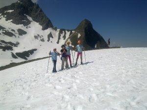 Winterwandern in den Bergen