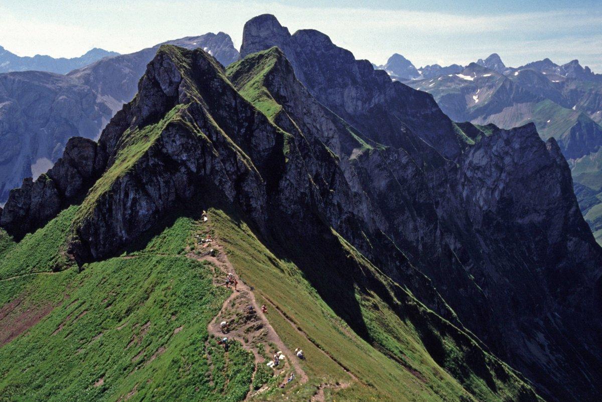 Klettersteig Oberstdorf : Klettersteige im allgäu und kleinwalsertal