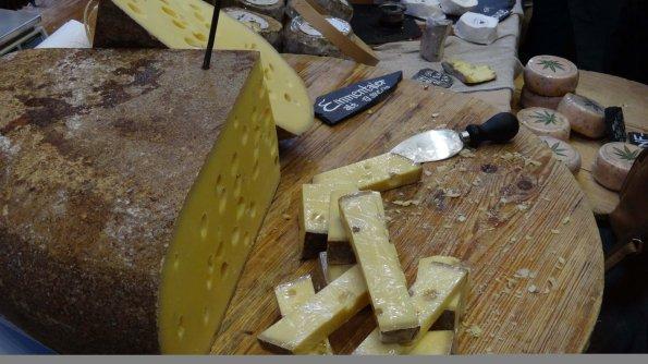 Käse auf dem Markt