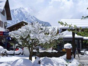 Oberstdorf-April-Schnee