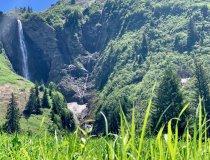 Wasserfall im Seitental von Oberstdorf
