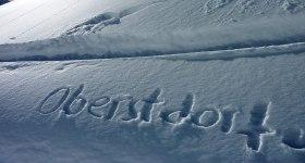 Oberstdorf - wundervolle Winterlandschaft