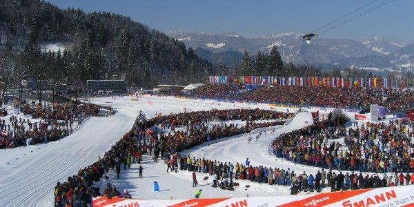 WM-Langlauf Arena