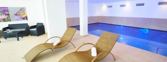 Wellnessbereich (450 m²)