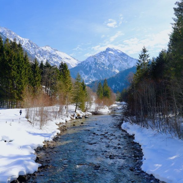 Langlauf im Hintersteiner Tal