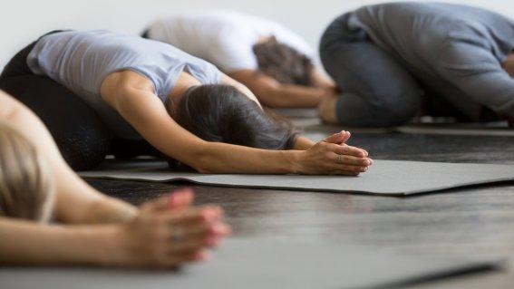 Yoga ist Hingabe