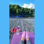 Yoga am See - besonders schön