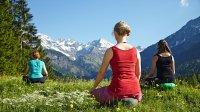 Meditation in den Bergen