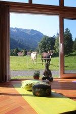 Natur-Yoga in Oberstdorf
