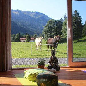 Natur-Yoga in Oberstdorf