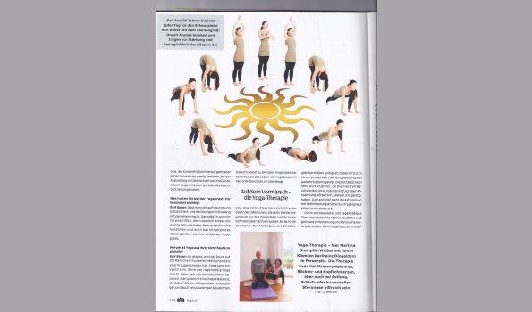 Yogatherapie Interview BIO 6/2017