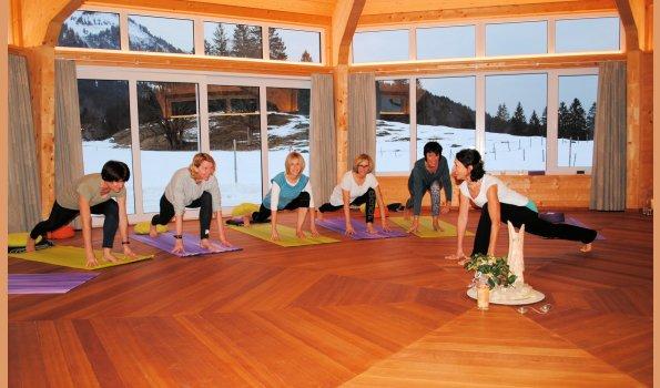 Yoga im Stillachtal