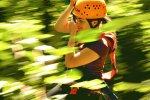 Seilrutsche am Kletterwald Söllereck