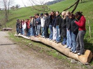Klassenfahrt ins Allgäu