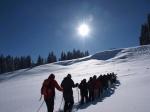 Schneeschuhtour bei Ihrer Klassenfahrt