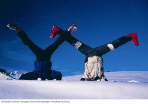 Young Alps Schneespaß im Kleinwalsertal
