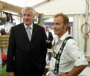 Bonn 2011 - Horst Seehofer zu Besuch beim Zipfelbund