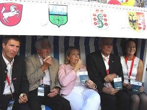 Bonn 2011 - Hannelore Kraft zu Besuch beim Zipfelbund