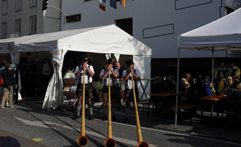 Bonn 2011 - Oberstdorfer Alphornbläser