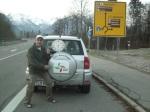 Kurz vor Oberstdorf