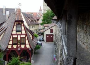 Blick auf Rothenburg o. d. T.