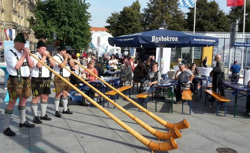 Alphornbläser aus Oberstdorf
