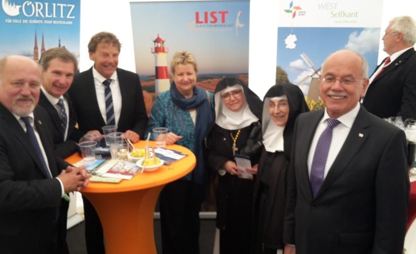 Besuch von Sylvia Löhrmann (Ministerin für Schule und Weiterbildung NRW)