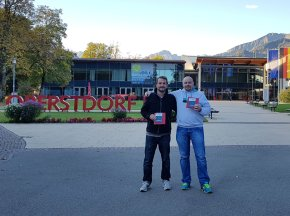 Ankunft Oberstdorf