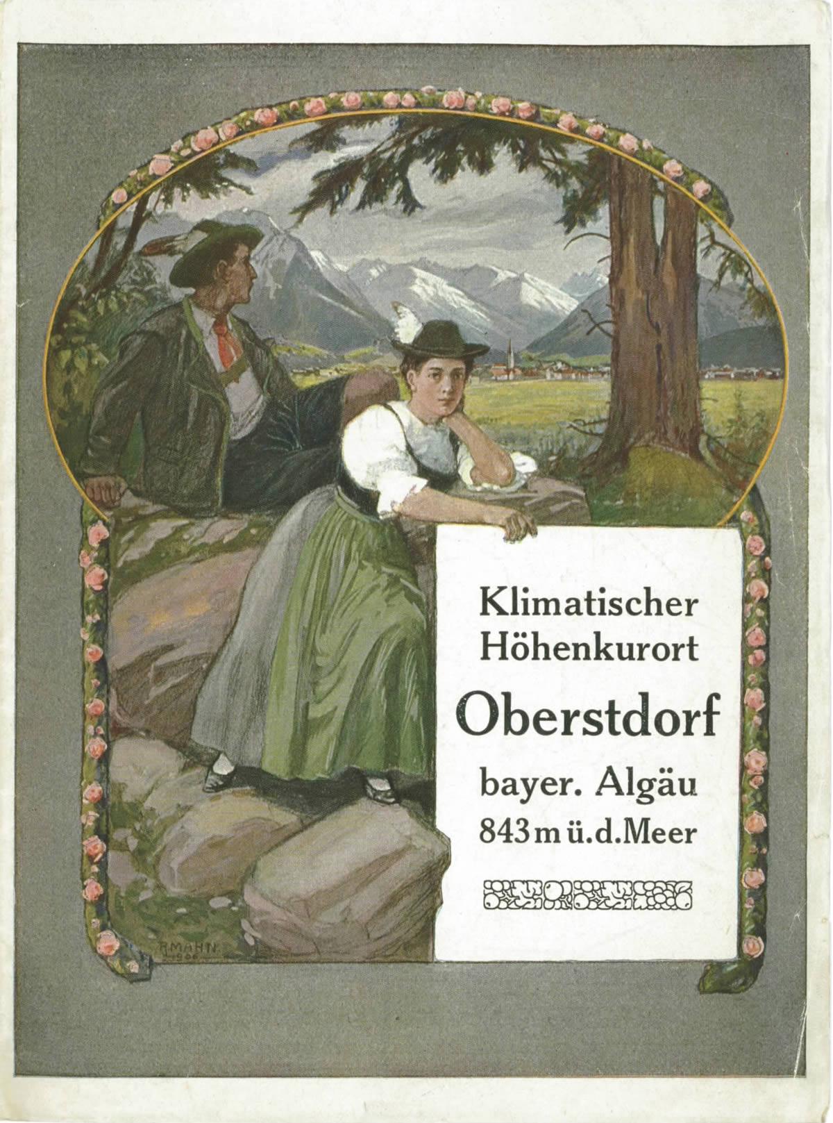 Ortsprospekt von 1914