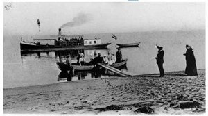 Anreise 1903