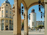 Marienplatz und dicker Turm